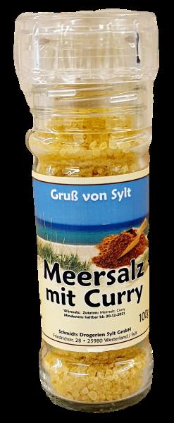 Gewürzmühle - Meersalz & Curry -