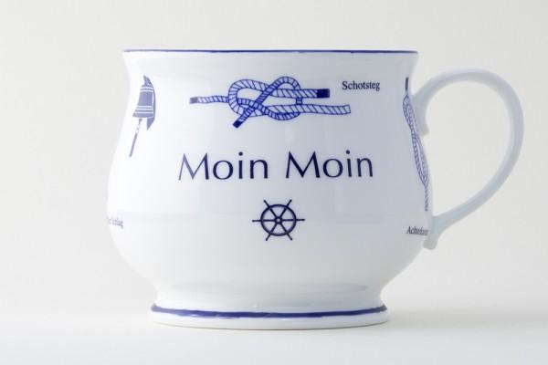 Kapitänsbecher Knoten bauchig - Moin Moin - 73390