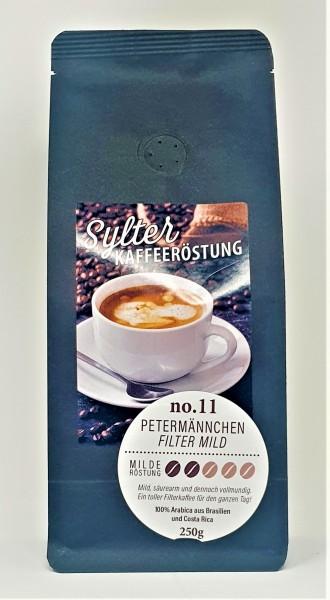 Sylter Kaffeeröstung No. 11 - Petermännchen Filter mild