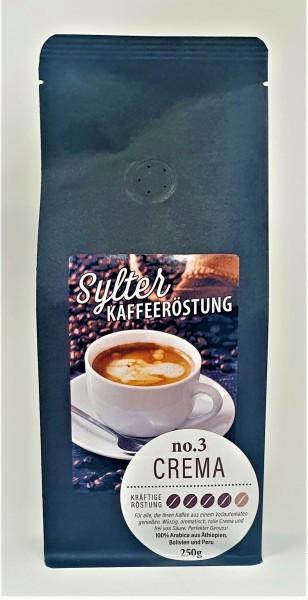 Sylter Kaffeeröstung No. 3 - Crema