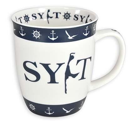 Sylter Becher - Blau Weiß 943510