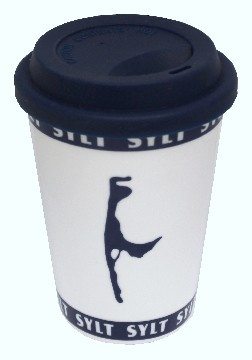 """Sylter Becher - """" Coffee to go"""" - 03301"""