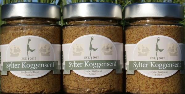 Sylter Koggensenf - Grober Grillsenf scharf