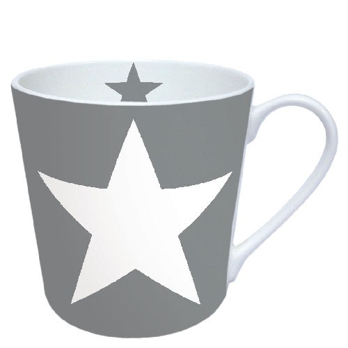 Ambiente Becher - Star Grey
