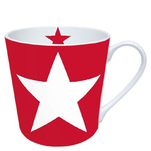 Ambiente Becher - Star Red