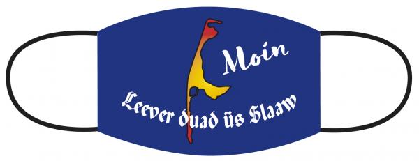Mund- Nasen Bedeckung - Leever duad üs Slaaw