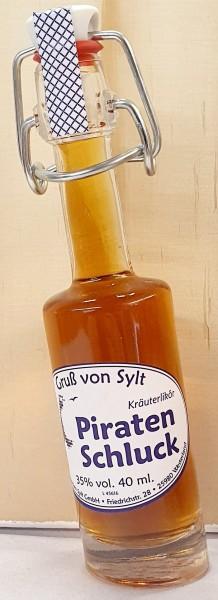 Piraten Schluck Likör - Bountyflasche
