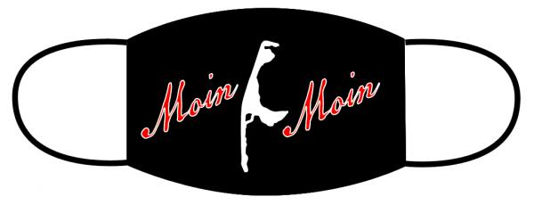Mund- Nasen Bedeckung -Sylt Moin Moin