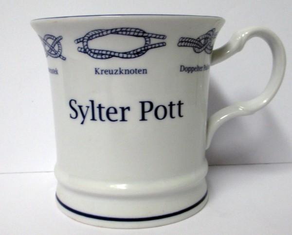 Kapitänsbecher Knoten geschwungen - Sylter Pott - 73680