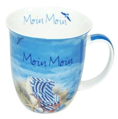 """Sylter Becher - Stranddesign """"Moin"""" - 94221815"""