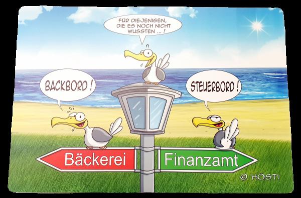 Backbord / Steuerbord - Tischset HÖSTI
