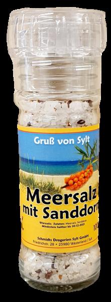 Gewürzmühle - Meersalz & Sanddorn -