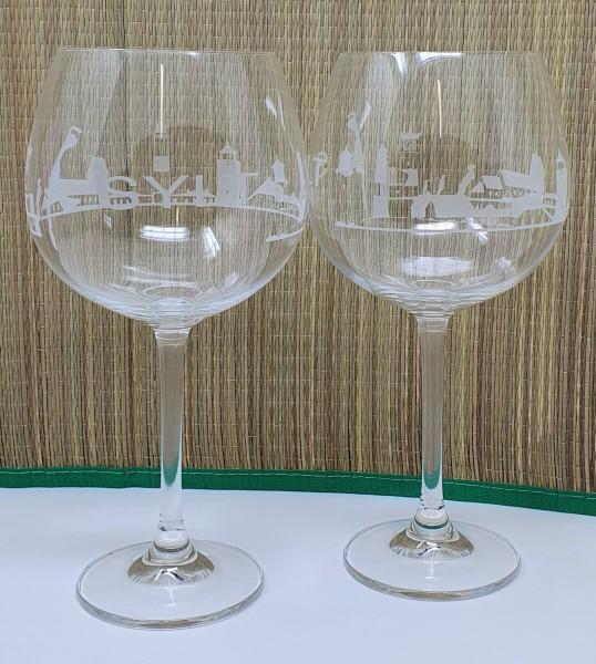 Gin Gläser - Sylt Skyline 2 STK
