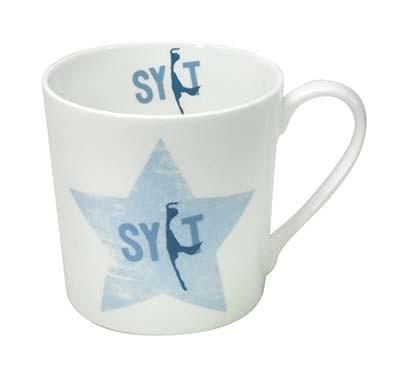 Sylter Becher - Shabby Stern Blau 942656