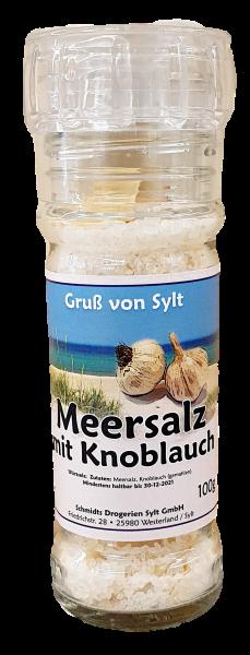 Gewürzmühle - Meersalz & Knoblauch -