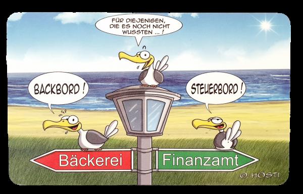 Backbord / Steuerbord - Brettchen HÖSTI