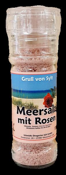 Gewürzmühle - Meersalz & Rosen -